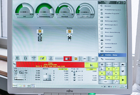 CNC Software of LENZ drilling machine